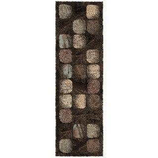 Nourison Modesto Charcoal Runner Rug (2'2 x 7'3)