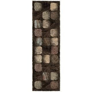 "Nourison Modesto Charcoal Runner Rug (2'2 x 7'3) - 2'2""x7'3"""