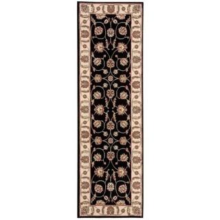 Nourison Modesto Black Runner Rug (2'2 x 7'3)