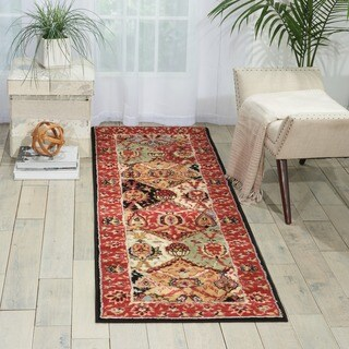 "Nourison Modesto Multicolor Traditional Runner Rug - 2'2""x7'3"""