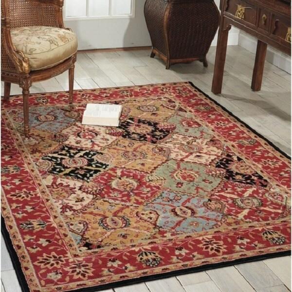 Nourison Modesto Multicolor Traditional Area Rug (7'10 x 10'6)