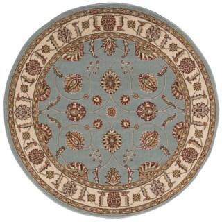 Nourison Modesto Blue Rug (5'3 Round)