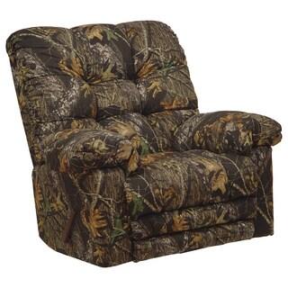Catnapper magnum camo chaise rocker recliner big man for Catnapper magnum chaise rocker recliner