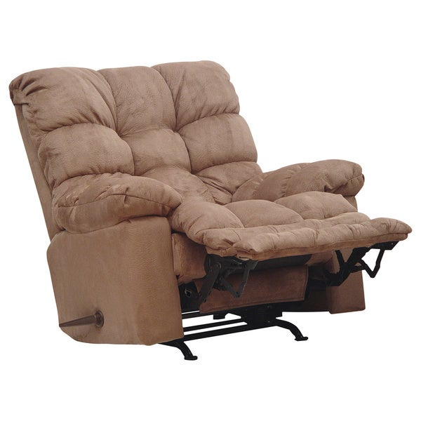 Catnapper magnum big man saddle chaise rocker recliner for Catnapper cloud nine chaise recliner