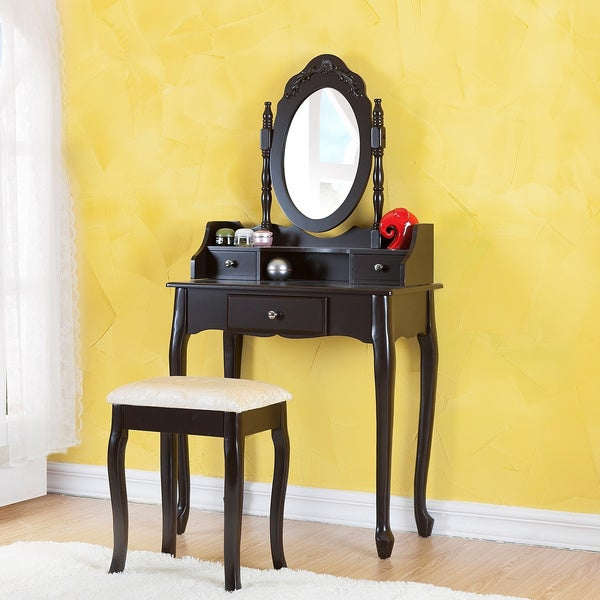 shop madeleine vanity set free shipping today 8335114. Black Bedroom Furniture Sets. Home Design Ideas