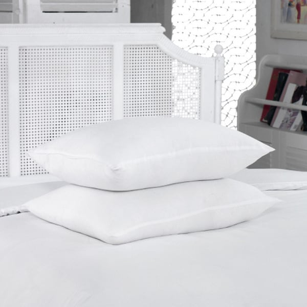 Shop Hotel Collection White Soft Sateen Egyptian Cotton Pillowcases