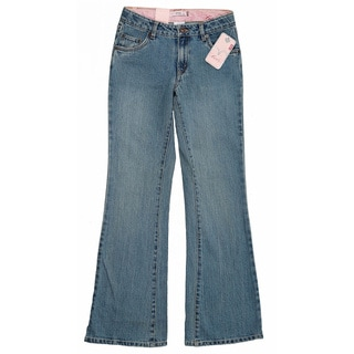 Levi's Girls Vintage Blue 517 Stretch Flare Jeans