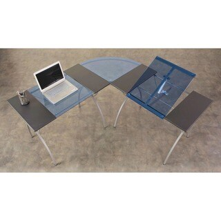 Studio Designs Catalina Split Top LS Drafting and Hobby Craft Work Center Table