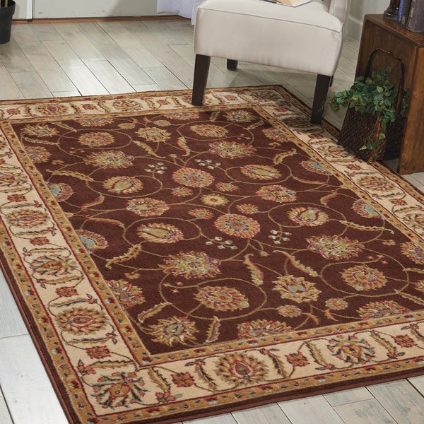 Nourison Modesto Brown Area Rug - 7'10 x 10'6