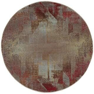 Nourison Modesto Multicolor Rug (5'3 Round)
