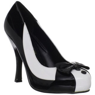 Funtasma Women's 'Wednesday-13' Patent Leather Tuxedo Pumps