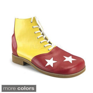 Funtasma Men's 'Clown-02' Star Print Clown Shoes (One size) (2 options available)