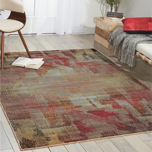 Nourison Modesto Multicolor Area Rug - 7'10 x 10'10