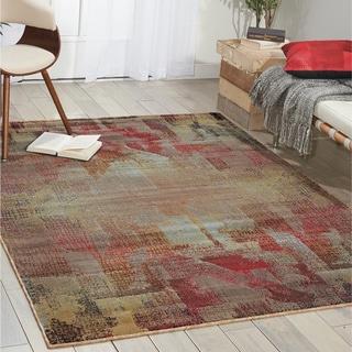 Nourison Modesto Multicolor Area Rug (7'10 x 10'10)