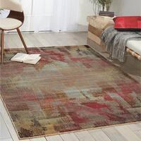 Nourison Modesto Multicolor Area Rug (7'10 x 10'10) - 7'10 x 10'10