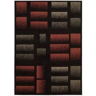 Nourison Modesto Black Area Rug (7'10 x 10'6)