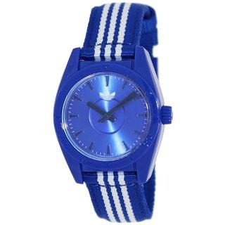 Adidas Women's 'Mini Santiago' Blue/ White Watch