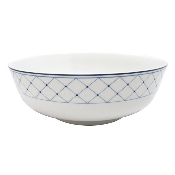 Nikko 'Blue Brushstroke' 9-inch Serving Bowl