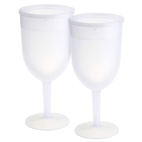KitchenWorthy Freezer Goblets (Set of 2)