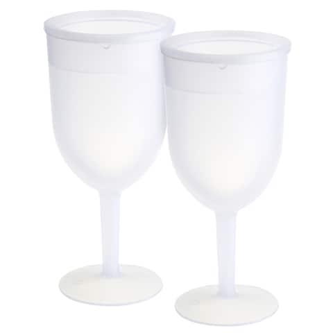 KitchenWorthy Freezer Goblets (Set of 2)