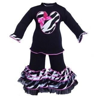 Ann Loren Zebra Mouse Doll Outfit