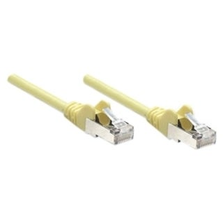 Intellinet Patch Cable, Cat6, UTP, 100', Yellow