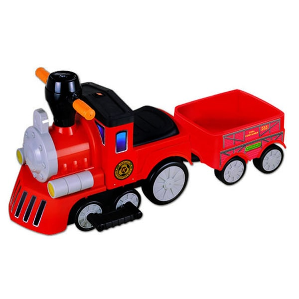 My Mini Express Red Train with Trailer