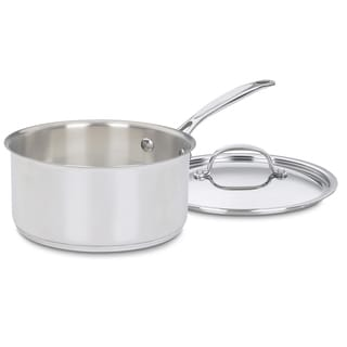 Chef's Classic Stainless Steel 3-Quart Saucepan