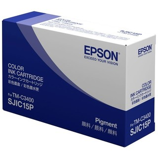 Epson SJIC15P Original Ink Cartridge - Cyan, Magenta, Yellow
