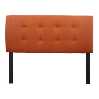 8-button Tufted Candice Pumpkin Headboard
