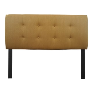 8-button Tufted Candice Fawn Headboard