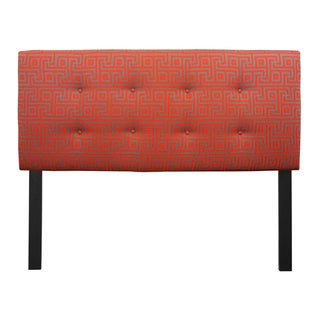 8-button Tufted Atomic Red Headboard