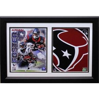 Houston Texans Arian Foster 12 x 18 Double Frame