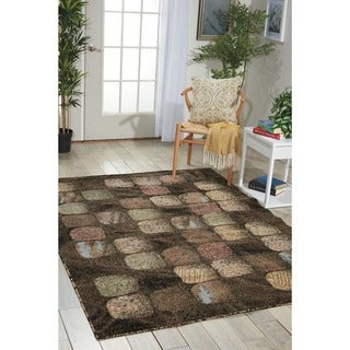 Link to Nourison Modesto Geometric Area Rug Similar Items in Rugs