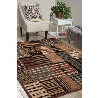 Nourison Modesto Grey Area Rug (5'3 x 7'3)