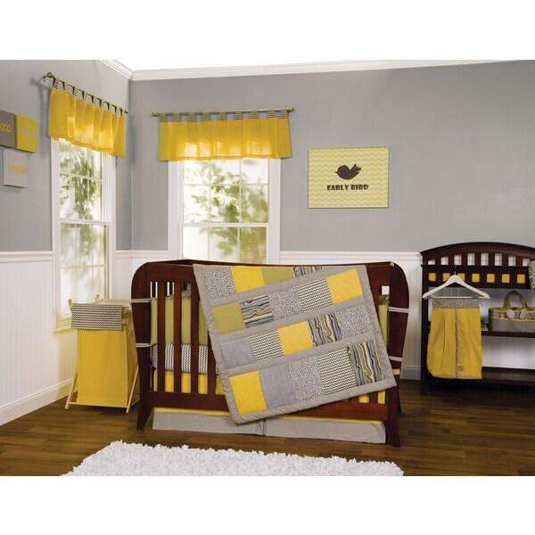 Shop Trend Lab 5 Piece Hello Sunshine Crib Bedding Set