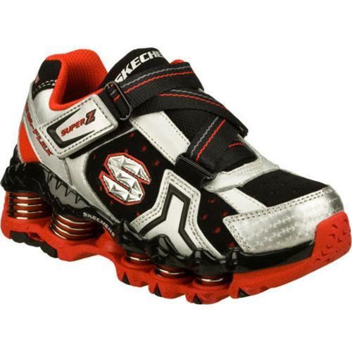 78a41a78765c Shop Boys  Skechers Mega Flex Recoiler Nexis Silver Red - Free Shipping On  Orders Over  45 - Overstock - 8339010