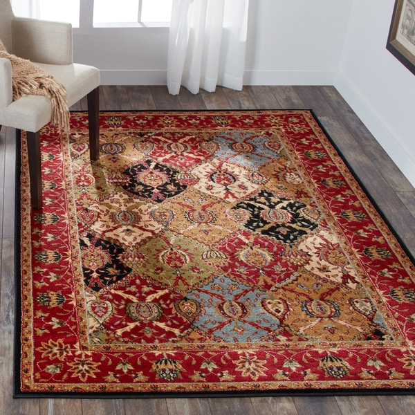 Nourison Modesto Multicolor Traditional Area Rug - 5'3 x 7'3