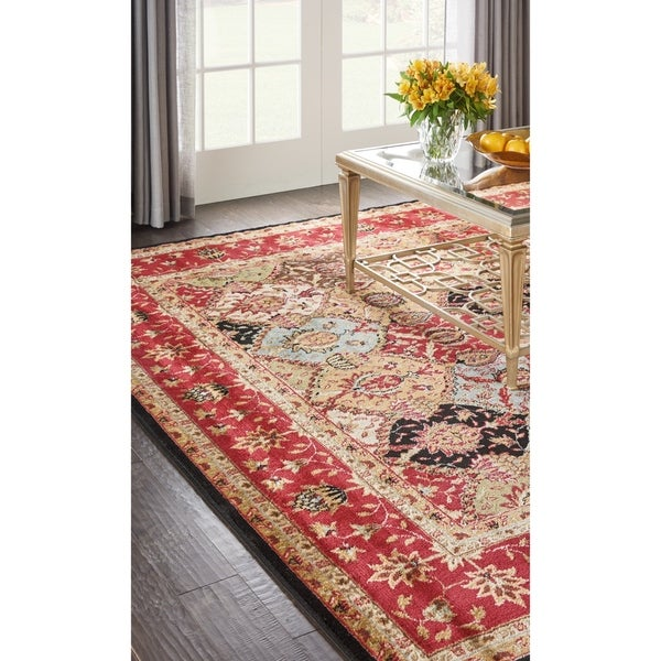 Nourison Modesto Multicolor Traditional Area Rug - multi - 5'3 X 7'3