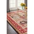 Overstock.com deals on Nourison Modesto Multicolor Area Rug 87x63-inch