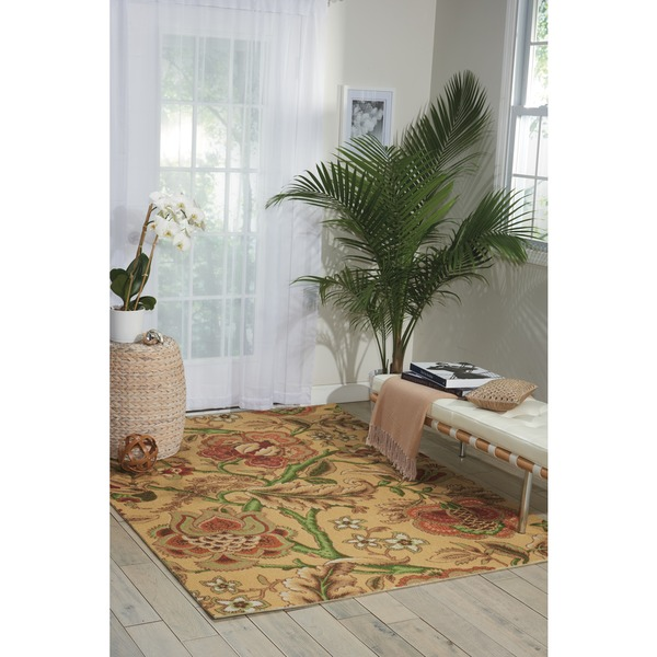 Waverly Global Awakening Imperial Dress Antique Area Rug by Nourison - 8' x 10'