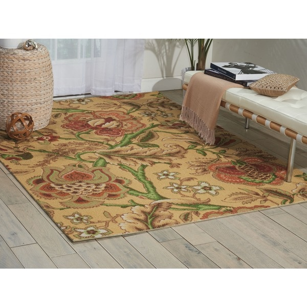 Waverly Global Awakening Imperial Dress Spice Area Rug by Nourison (8' x 10')
