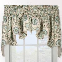 Ellis Curtain Paisley Prism Duchess 2-piece Window Valance