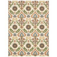 Waverly Global Awakening Santa Maria Pear Area Rug by Nourison (8' x 10')
