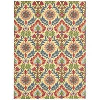 Waverly Global Awakening Santa Maria Spice Area Rug by Nourison (8' x 10')