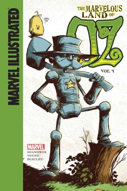 Marvel Illustrated the Marvelous Land of Oz 4 (Hardcover)