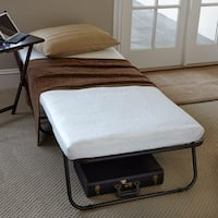 Priage Easy Folding Guest Bed and 4-Inch Single-size Foam Mattress