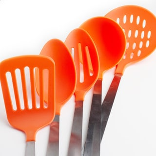 Stainless Steel and Nylon 5-piece Kitchen Utensil Tool Set