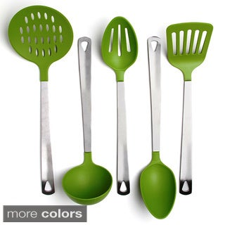 Stainless Steel and Nylon 5-piece Kitchen Utensil Tool Set (4 options available)