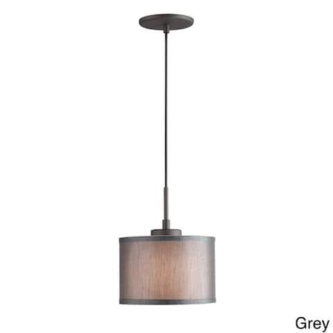 1-light Metallic Bronze Mini Pendant
